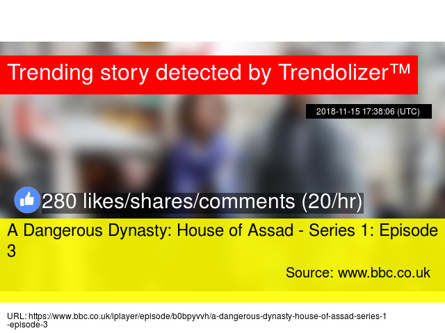 a dangerous dynasty house of assad watch