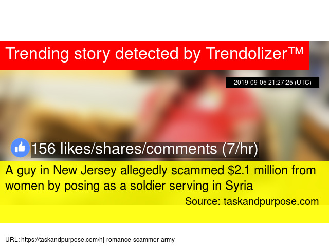 A guy in New Jersey allegedly scammed $2 1 million from