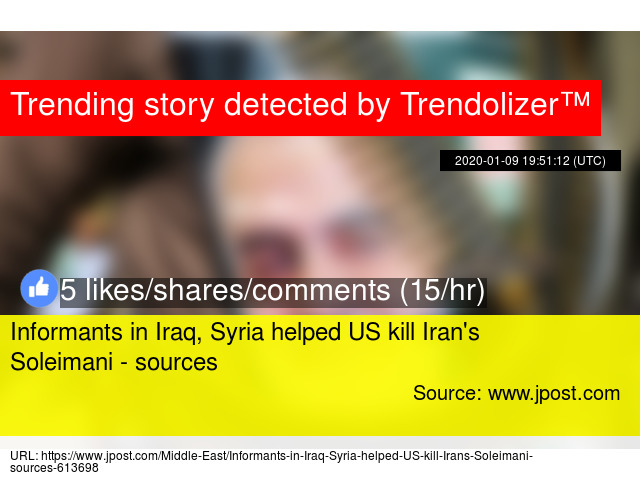 Iraq Syria Helped Us Kill Iran 39